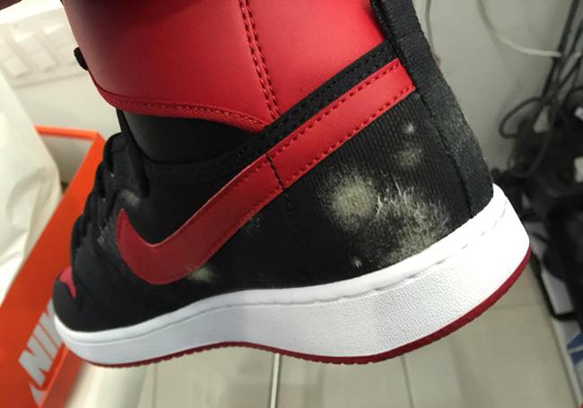 Air Jordan 1 KO High OG Bred Mold