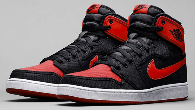 Air Jordan 1 KO High OG Bred