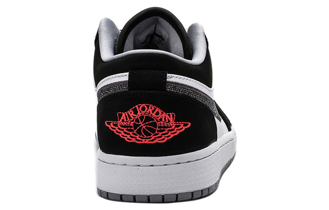 Air Jordan 1 Low Lifestyle Black White Infrared