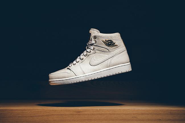 Air Jordan 1 Pinnacle White Metallic Gold