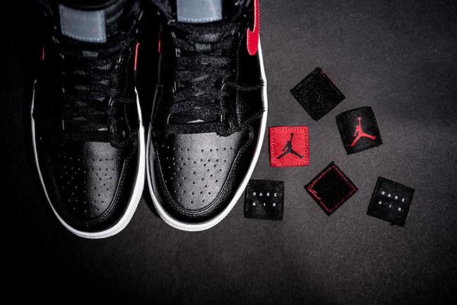Air Jordan 1 Rare Air Black Red