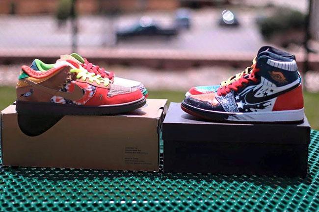 Air Jordan 1 What The Custom