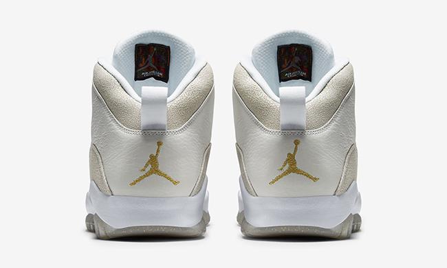 Air Jordan 10 OVO Drake Summit White