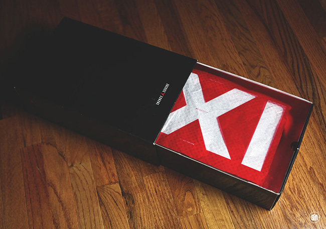 Air Jordan 11 72-10 Packaging Box
