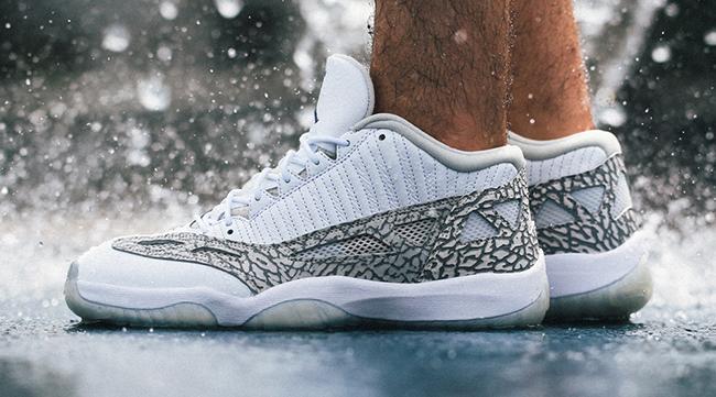 Air Jordan 11 IE Low Cobalt On Feet