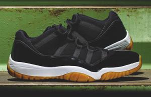 Air Jordan 11 Low Black Gum Sample