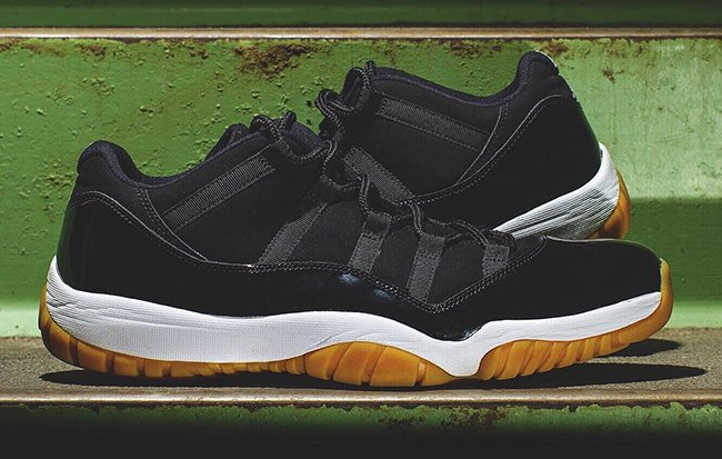Air Jordan 11 Low Black Gum Sample