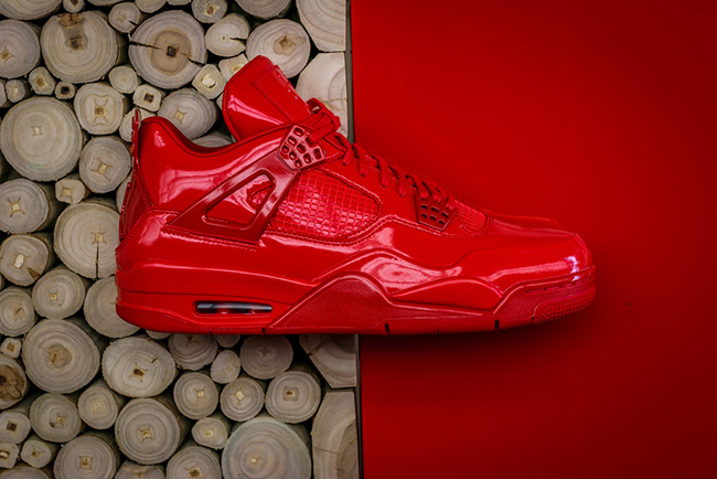 Air Jordan 11Lab4 Red Releasing