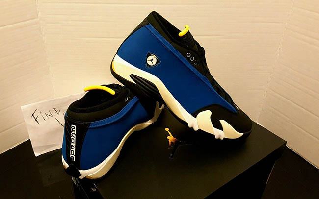 Air Jordan 14 Low Laney 2015 October