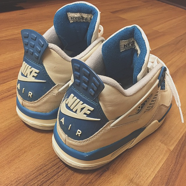 promo code 066b0 e4ecd With the original tag Air Jordan 4 Retro 89 Military Blue Nike Air 2016 ...