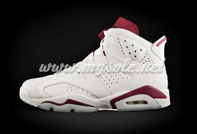 2015 Air Jordan 6 Maroon Retro