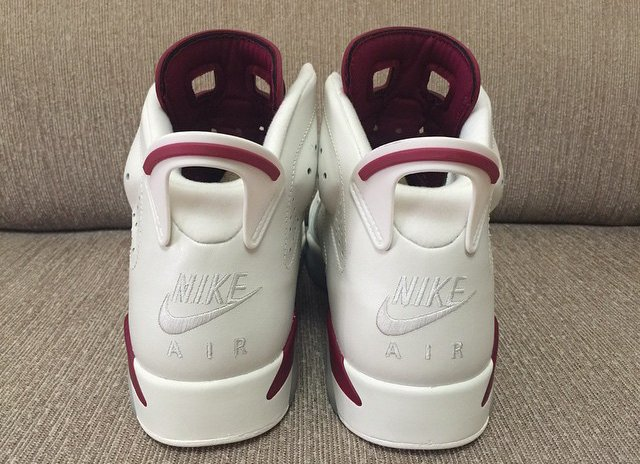 Air Jordan 6 Maroon 2015