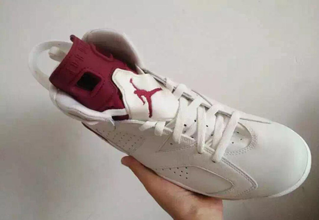 Air Jordan 6 Maroon 2015 Retro