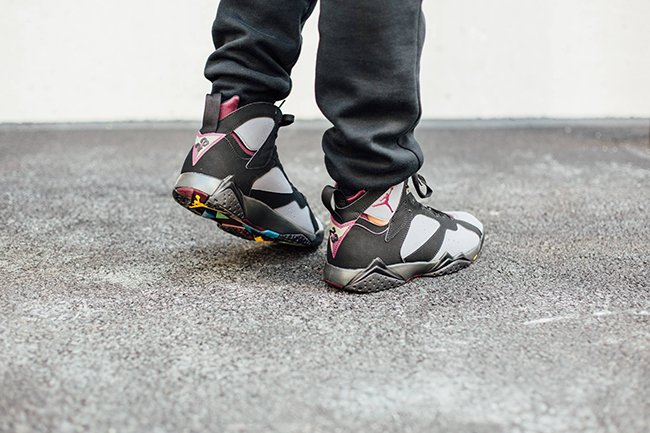 outlet store 0161c c40b5 Air Jordan 7 Bordeaux 2015 On Feet