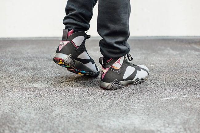 outlet store 0161c c40b5 Air Jordan 7 Bordeaux 2015 On Feet
