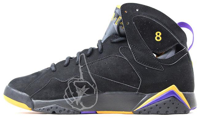 Air Jordan 7 Kobe Bryant Lakers Away PE