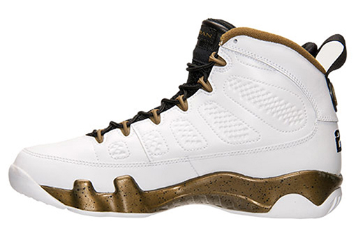 Air Jordan 9 Copper Statue