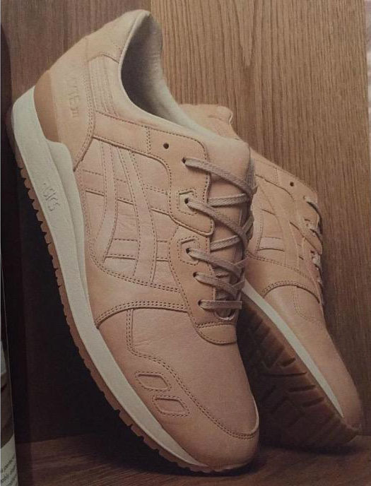 Asics Gel Lyte III Natural Leather