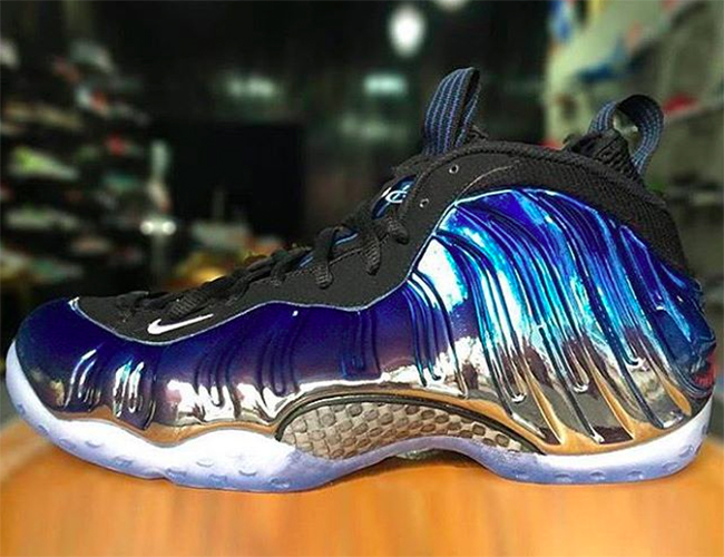 Blue Mirror Nike Air Foamposite One