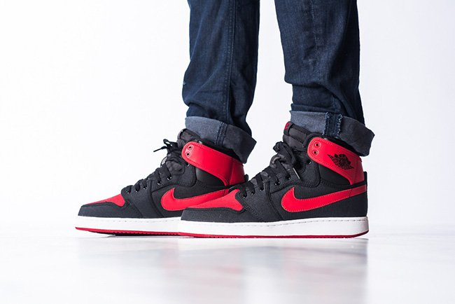 Air Jordan 1 KO High OG Bred 2015
