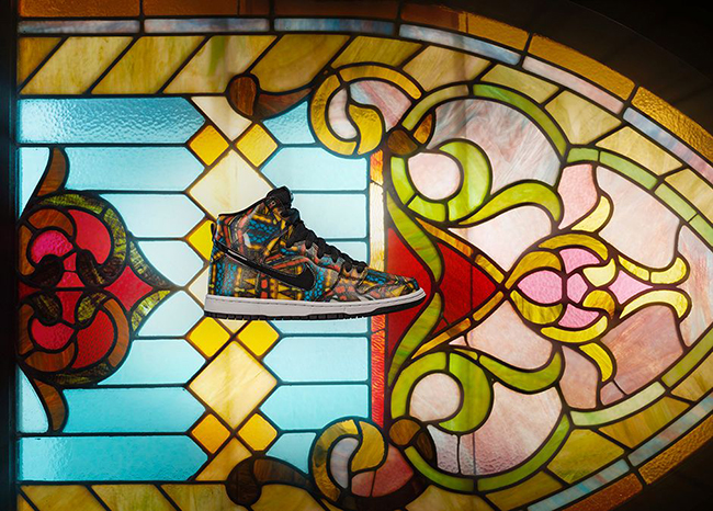 Concepts Nike SB Dunk High Stained Glass