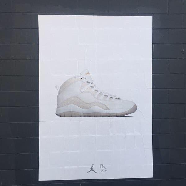 Drake Air Jordan 10 OVO Release