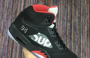 Supreme Air Jordan 5 Black