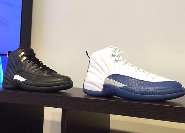 French Blue Air Jordan 12 2016
