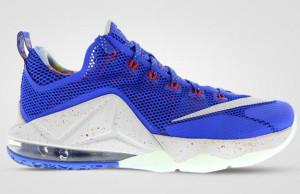 Nike LeBron 12 Low Hyper Cobalt