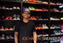 Joe Haden Sneaker Closet
