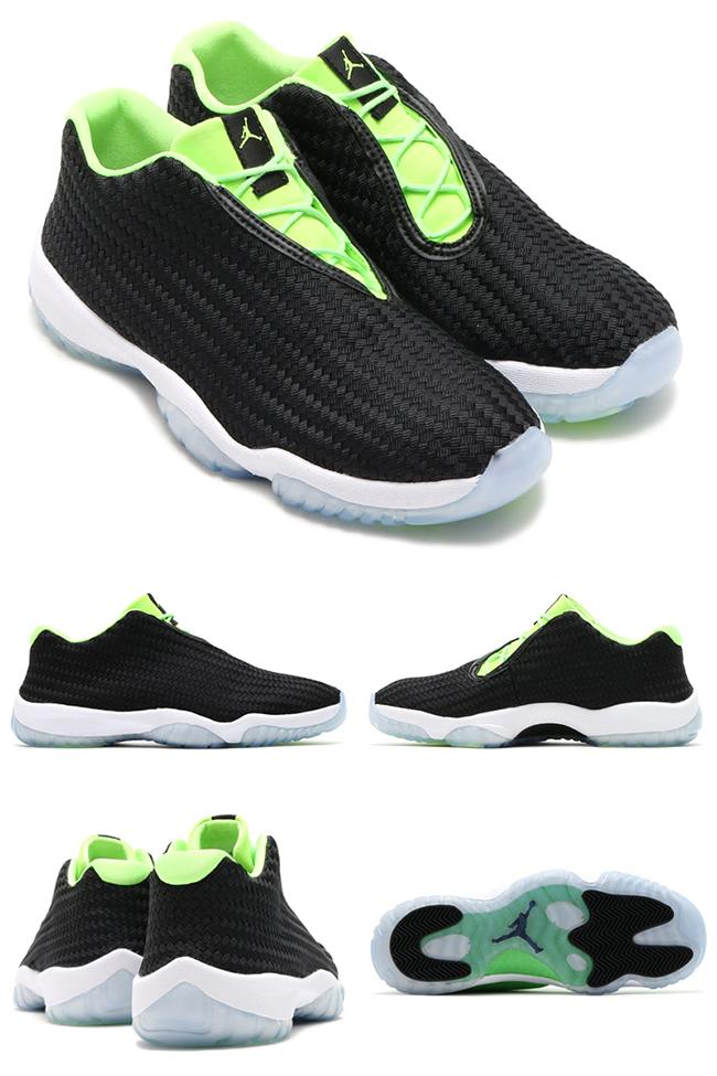 best service 89849 c93c8 new Jordan Future Low Ghost Green Detailed Look