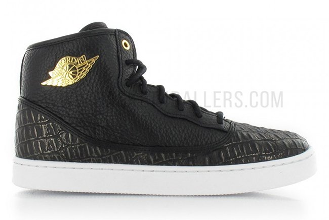 Jordan Jasmine Black White Metallic Gold