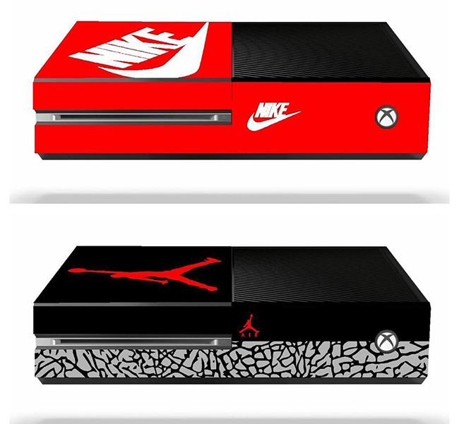 Nike Jordan Box Video Game Console Skins SneakerFiles - Nike skins fur minecraft