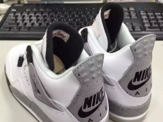 Air Jordan 4 Retro 89 White Cement Kids 2016