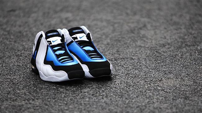 Nike Air 3 LE Kevin Garnett White Blue 2015
