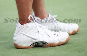 Nike Air Foamposite Pro White Gucci On Feet