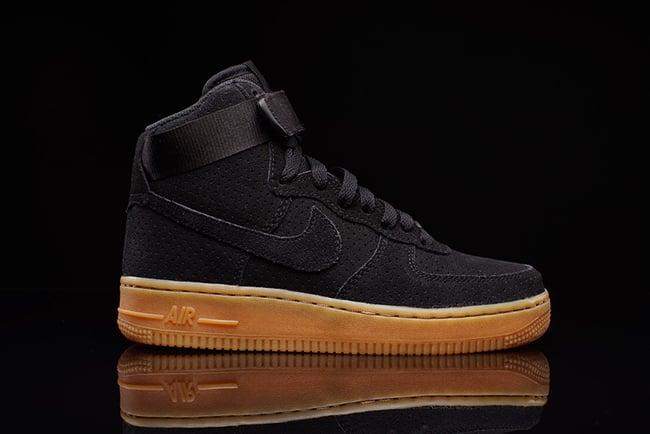 Nike Air Force Black Gum