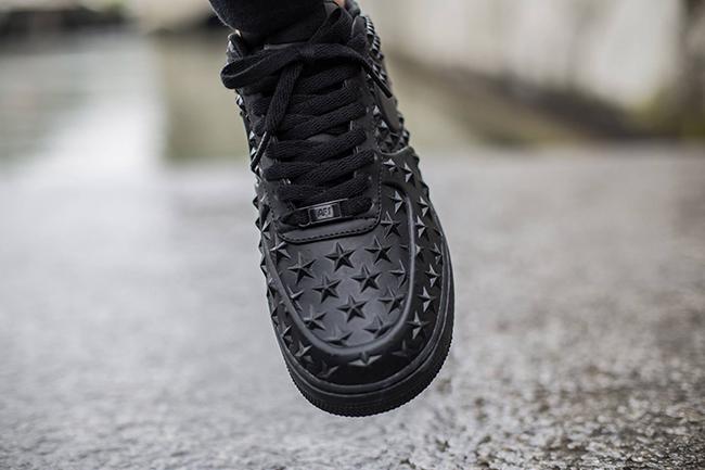 Nike Air Force 1 Low Stars Black
