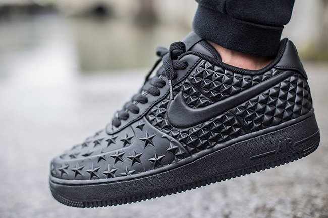 the best attitude b8e87 53b76 Nike Air Force 1 Low Stars Black