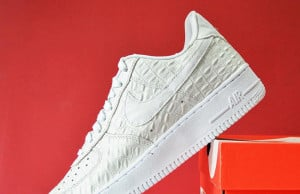Nike Air Force 1 Low White Croc