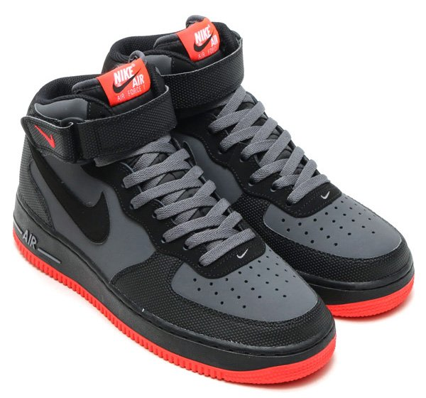 Nike Air Force 1 Mid Hot Lava