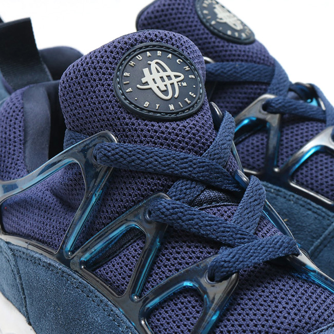 Nike Air Huarache Light Midnight Navy Wolf Grey Dark