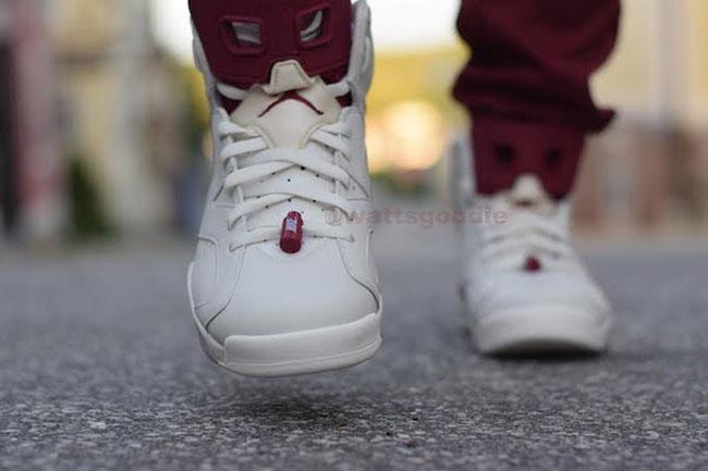 Nike Air Jordan 6 Maroon 2015