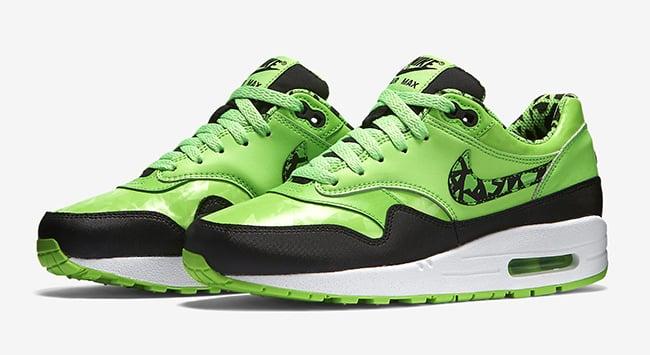 green nike air max 1