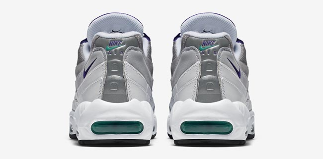 60%OFF Nike Air Max 95 Grape Official Images