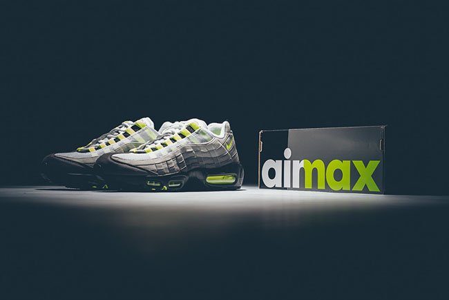 Nike Air Max 95 Og Neon 2015 Sneakerfiles