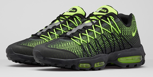 Nike Air Max 95 Ultra Jacquard Black Volt   SneakerFiles