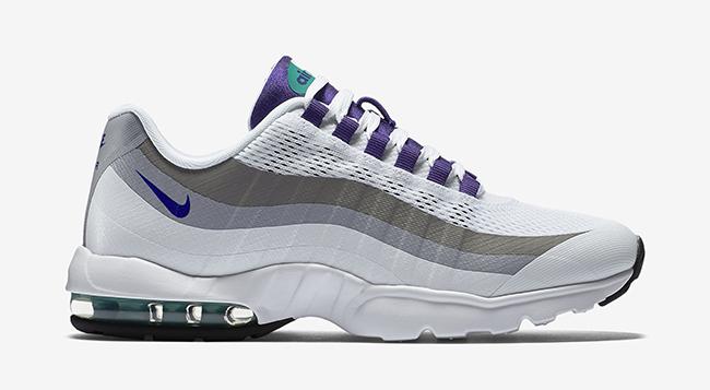 pretty cheap run shoes shades of Nike Air Max 95 Ultra WMNS Grape | SneakerFiles