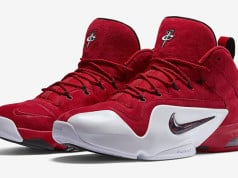 Nike Air Penny 6 Red Suede