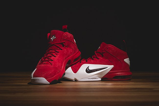 bde4fb6e3a Nike Air Penny 6 Red Suede | SneakerFiles